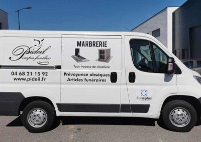 Marquage véhicule Perpignan 66