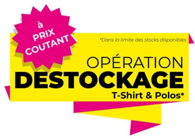 destockage tee-shirt Saint Cyprien